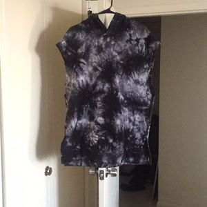Tie dye hoodie great condition size large